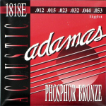 Adamas 1818E Acoustic Guitar Strings 12-53 Light 1 Set