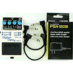 Boss DD-7 Digital Delay Guitar Effect Pedal w/ PSA-120S & effects cables Premium Bundle