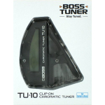 Boss TU-10 Clip On Chromatic Guitar Tuner Black TU10
