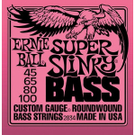 Ernie Ball Bass Strings Set Super Slinky 45-100