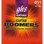 GHS Boomers Electric Guitar Strings .011 Medium 3 Sets