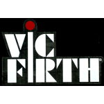 Vic Firth Drumsticks White Logo Stickers 2 Pack