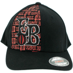 Ernie Ball Logo Flexfit L/XL Baseball Cap Hat Black NEW