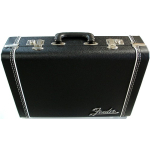 Fender Guitar Briefcase Black Tolex Deluxe Accessory Case 0991005506