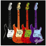 Fender CANVAS ART 9190560500
