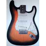 Guitar Mouse Pad Fender Strat Stratocaster