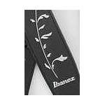 Ibanez Guitar Strap Deluxe Leather Black Tree of Life