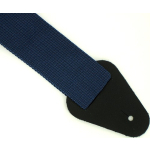 "Nylon Guitar Bass Strap 50"" Long 2"" Wide NAVY BLUE NEW"