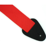 "Nylon Guitar Bass Strap 52"" Extra Long 2"" Wide RED NEW"