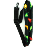 Padded Sax Saxophone Neck Strap Chili Peppers NEW
