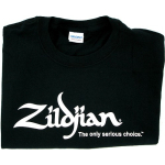 Zildjian Cymbal Logo Black T Shirt LARGE NEW