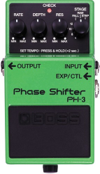 Boss PH-3 Phase Shifter Delay Pedal