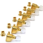 Deluxe Fender Gold Tuners with White Pearl Buttons