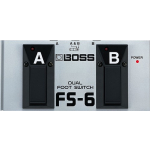 Boss FS-6 Dual Keyboard Footswitch Pedal