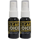 Clear Voice Vocal Spray Honey Lemon 1 fl. oz. Bottles 2 Pack