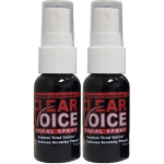 Clear Voice Vocal Spray Strawberry Lemonade 1 fl. oz. Bottles 2 Pack