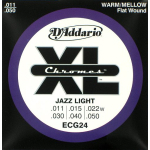 D'Addario ECG24 Chromes Electric Guitar Strings 10 Sets