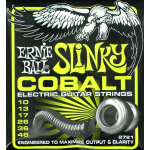 Ernie Ball 2721 Cobalt Regular Slinky 10-46 Electric Guitar Strings 12 Sets