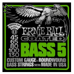 Ernie Ball Bass 5 String Set Coated Regular Slinky 45-130
