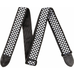 "Fender 2"" NYLON CHECKERBOARD BLK/WHT  0990615002"