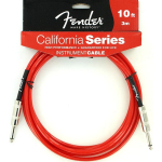 Fender 10' Guitar Amp California Series Cable Red