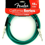 Fender 15' Guitar Amp California Series Cable Surf Green