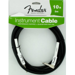 Fender Performance Guitar Cable 10' Black Right Angle 0990820006