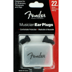 Fender Musician Ear Plugs 22dB Noise Reduction Rating with Case 0990542000