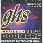 GHS Coated Boomers Guitar Strings .010 Light 3 Sets