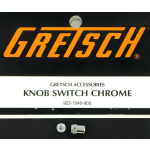 Genuine Gretsch Chrome Guitar Switch Tips Pair