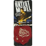Ibanez Paul Gilbert Signature Guitar Picks Red 6 Pack