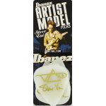 Ibanez Steve Vai Guitar Picks White Rubber Grip 6 Pack