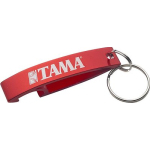 Tama Drums White Logo Keychain Red Bottle Opener