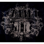 Tama Drums Warlord Logo T Shirt Black Extra Large XL