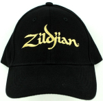 Zildjian Cymbal Logo Black Baseball Cap Hat NEW