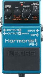 Boss PS-6 Harmonist Guitar Effect Pedal
