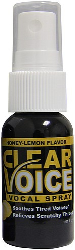 Clear Voice Vocal Spray Honey Lemon 1 fl. oz. Bottle