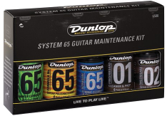 Dunlop System 65 Guitar Maintenance Polish Cleaner Kit 6500