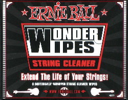 Ernie Ball Wonder Wipes String Cleaner 6 Single Packs