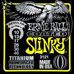 Ernie Ball Coated Regular Slinky Guitar Strings 12 Sets