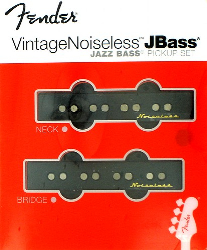 Fender Jazz Bass Vintage Noiseless Pickups Neck and Bridge Set 0992102000