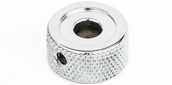 Fender  KNOB KNURLED LOWER CHRM   0049457000