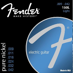 Fender 150L Electric Guitar Strings 9-42 3 Sets