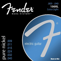 Fender 150XL Nickel Electric Guitar Strings 9-40 12 Sets
