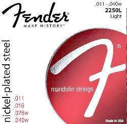 Fender MANDOLIN LIGHT GAUGE NPS   0732250403