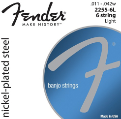 Fender BANJO LIGHT 6 STRING NPS 1142 0732255406