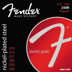 Fender 250R 10-46 Electric Guitar Strings 1 Set