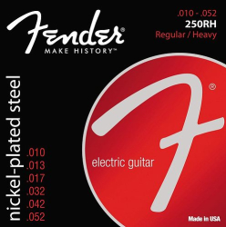 Fender 250RH 10-52 Electric Guitar Strings 1 Set