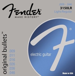 Fender 3150LR Electric Guitar String 9-46 Bullet 1 Set