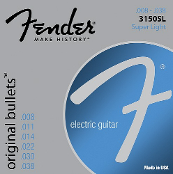 Fender 3150SL PURE NKL BLT END 838   0733150401